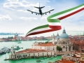 Venice and plane