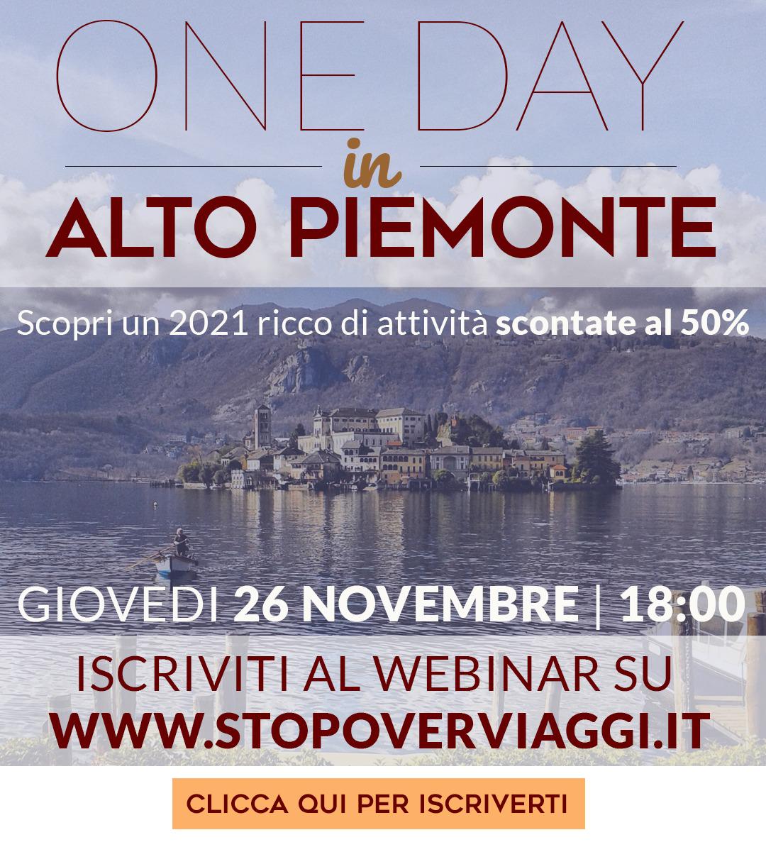 Webinar AltoPiemonte - Stopover Viaggi